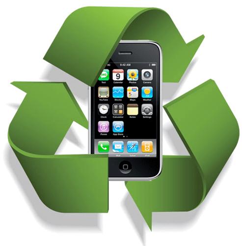 Återvinn din gamla efter du jämför mobiler