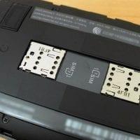 Telefon med Dual SIM